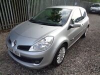 RENAULT CLIO 1.2 DYNAMIQUE 2008 60,000 MILES SERVICE HISTORY M.O.T. TILL 31/05/18 (NO ADVISORIES )