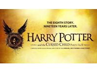 2 x Harry Potter & the Cursed Child Ticket (Part 1 & 2) - Aug 30 and Sep 2 - Balcony