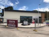 Brand new Costa drive through! 2 assistant managers, supervisors and team members!