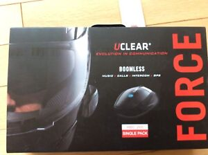 UClear Boomless HBC 200 Single Pack Force Helmet Comms X 2