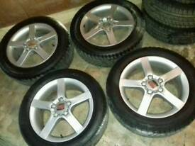 Seat 17 inch alloy wheels 5x112