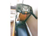 V-fit PT143 Power-Plus Motorised Programmable Folding Treadmill r.r.p £1200.00