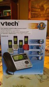Vtech 4 handset DS6642 - 4A Telephone system