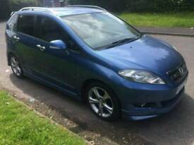 """HONDA FRV 57 2008 2.2 DIESEL 6 LEATHER SEATS WITH 17"""" ALLOYS AND BODY KIT RARE MODEL"""