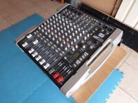 LD systems LAX12DA active mixing console.