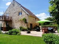 The Barn at Vijon - Gite (self-catering) in the Indre, Centre Val de Loire, France.