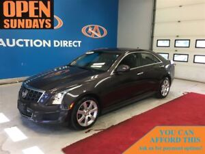 2014 Cadillac ATS 2.5L SUNROOF! LEATHER! FINANCE NOW!