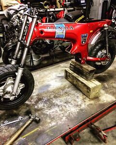 Looking for fast pit bike engine for this