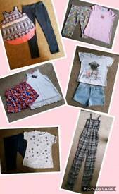 Big Bundle of Girls 9-10 Years Clothes - 41 Items