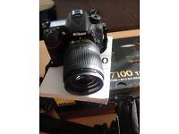 SLR CAMERA Nikon D7100 18-140 VR KIT plus extras