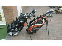 Taylormade rbz iron and bag full set