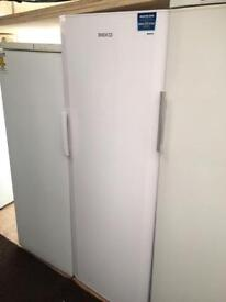White beko frost free H 170cm W 60cm freezer good condition with guarantee bargain