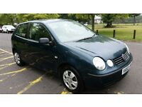 2003 Volkswagen Polo 1.2 S 3dr 1Former Keeper Full Service History HPI Clear @ 07725982426 @