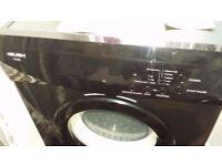 6kg bush tumble dryer. Black.