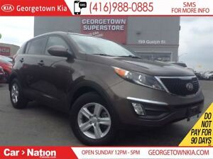 2015 Kia Sportage LX | ONE OWNER | ONLY 27,820KMS | BLUE TOOTH |