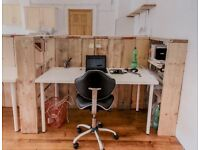 Large Desk in Creative Studios, Haggerston
