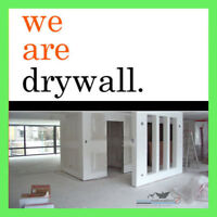 DRYWALL & TAPING. IT'S WHAT WE DO!