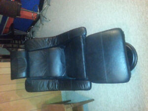 Chairworks leather swivel dentist chair.