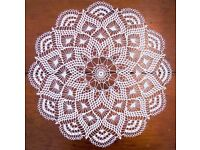 Wanted any lace or crochet doilies any size shape colour