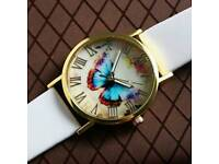 New Ladies butterfly watch.