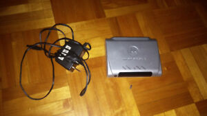 PRICE DROPPED. MOTOROLA DSL MODEM IN EXCELLENT CONDITION