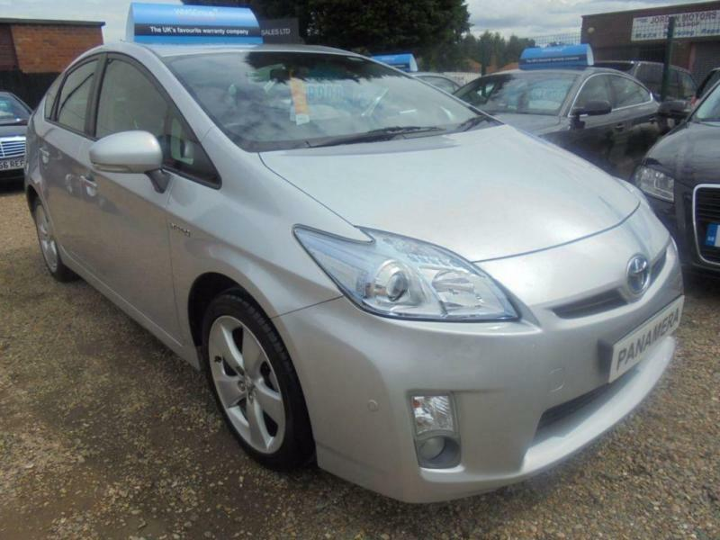 2010 60 TOYOTA PRIUS 1.8 T SPIRIT VVT-I 5DR AUTOMATIC 140 BHP AA REPORT ONLY 65K
