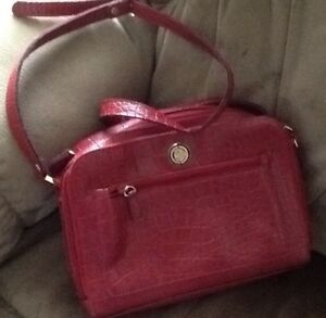 PURSES $5-$10   NEW or GENTLY USED HANDBAGS:  red CORNELL bag me
