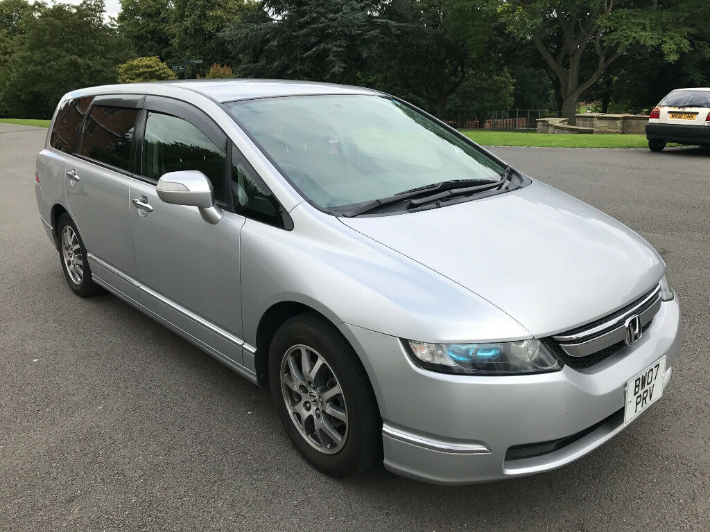 Beautiful Facelift 2007 Honda Odyssey 2.4 Vtec 7 Seater Automatic FULL MOT *LPG FITTED*