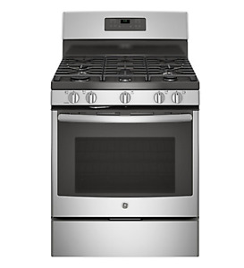 5.0 cu. ft. Free-Standing Self-Cleaning Gas Range in Stainless S