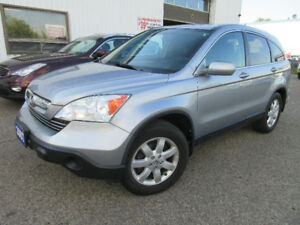 2007 Honda CRV EXL-CLEAN CAR,LEATHER, SUNFROOF,WARRANTY! $9995