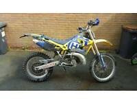 husqvarna wr 250 2t enduro road legal