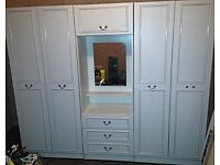 3 Set Wardrobe & Mirror