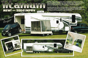 2007 41' TITANIUM TOYHAULER  FIFTH WHEEL