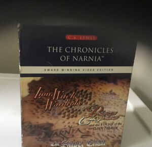 The Chronicles of Narnia gift set VHS movies