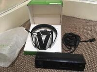 Xbox one headset with adapter and Kinect