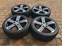 "VW Golf R 18"" Cadiz Alloy Wheels GENUINE 7.5x18 ET49 inc Tyres"