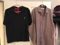 Good condition 6 polo t shirts