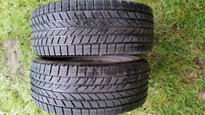 2 winter toyo tires size 205/55 R 16