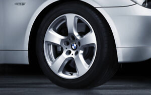 "17"" BMW Factory wheels with newer tires / $750 takes it"