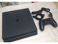ps4 slim 500g with uncharted 4