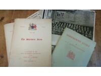 Sherborne school memorabilia. Souvenir of 400th anniversary (x2). Sherborne story.plus photos