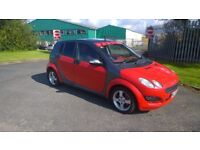 2004 SMART 4FOR 4 SEMI AUTO PASSION 1.5 5DR PETROL