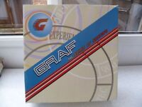 *GRAF BOLERO WHITE ~ FIGURE SKATES* Size 2 (Euro 34)