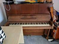 Free Piano. Needs a tune. Collection only