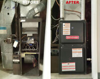 Furnace, AC, & Water Heater Upgrades - Low Monthly - $0 Down