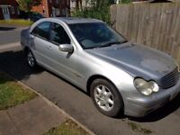 SPARES OR REPAIR MERCEDES C200 LOST KEY NO OFFERS CALL 02475119533 NO MARKETING CALLS AS WONT