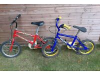 2 x Children's bikes, Good condition. £20 each or 2 for £35