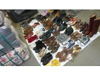 Sorted Second Hand Shoes
