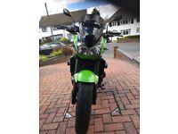 Kawasaki Z1000 A1H 2003 , OZ Wheels Green and Black