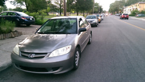 Honda civic 2004 automatic 167,000 km only